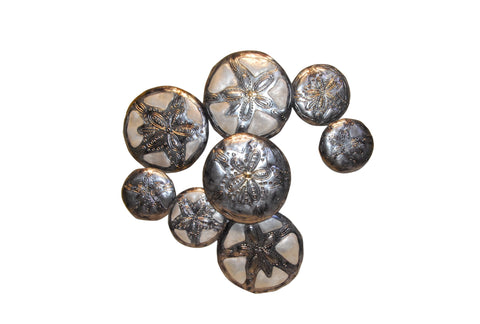Capiz Shell Sand Dollar Wall Art