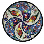 Wheel of Fortune (Swirl) Turkish Plate