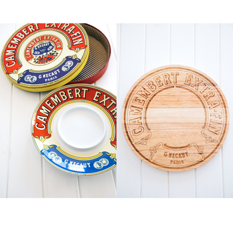 Camembert Timber Board & Dip Platter