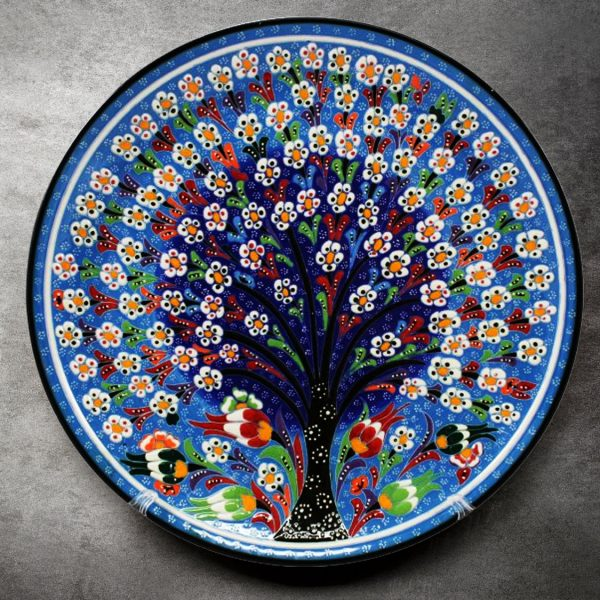 Tree of Life Turkish Plate