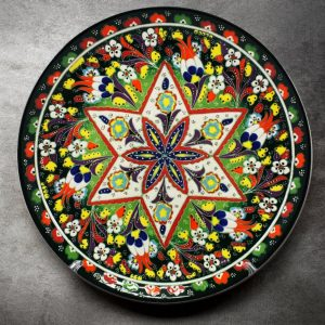 Wheel of Fortune (Traditional) Turkish Plate
