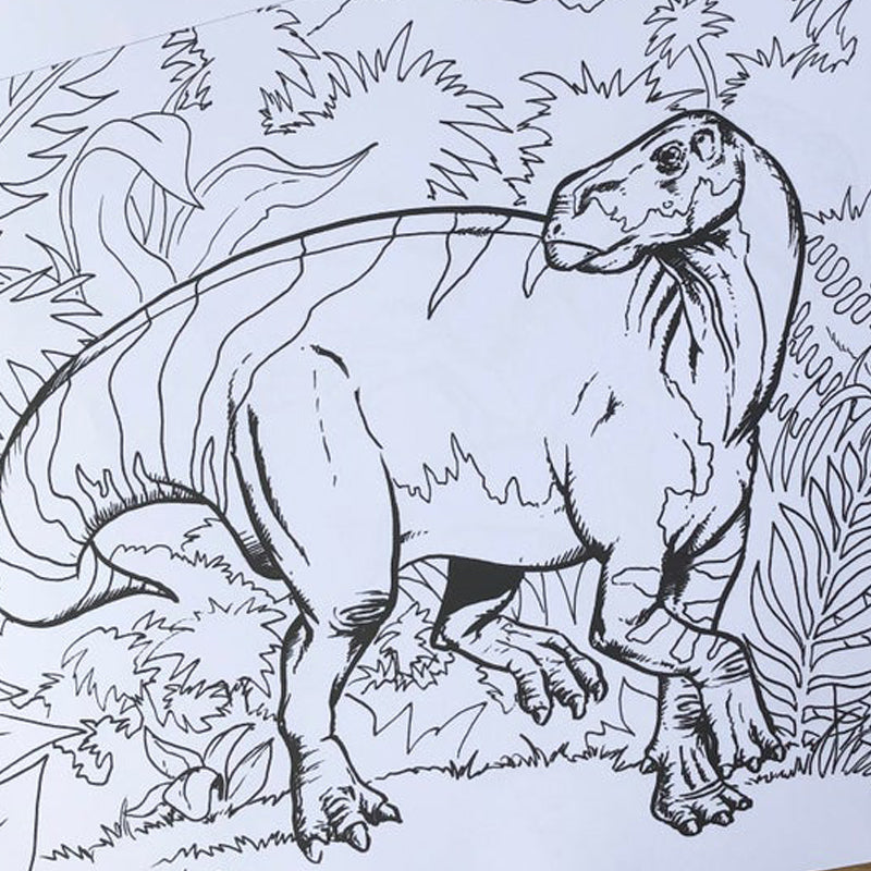 Dino archipelago large colouring pad