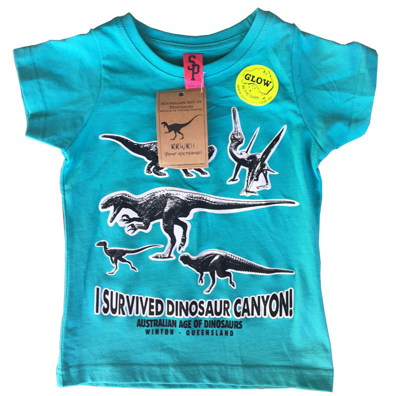 I survived Dinosaur Canyon tee
