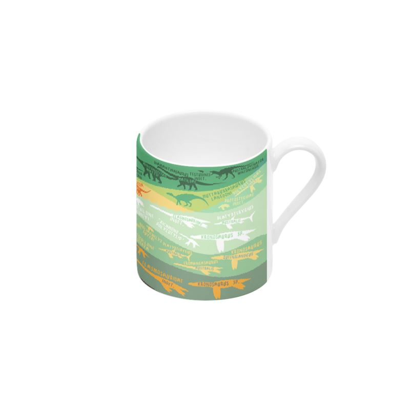 Outback Stratigraphy cup and saucer