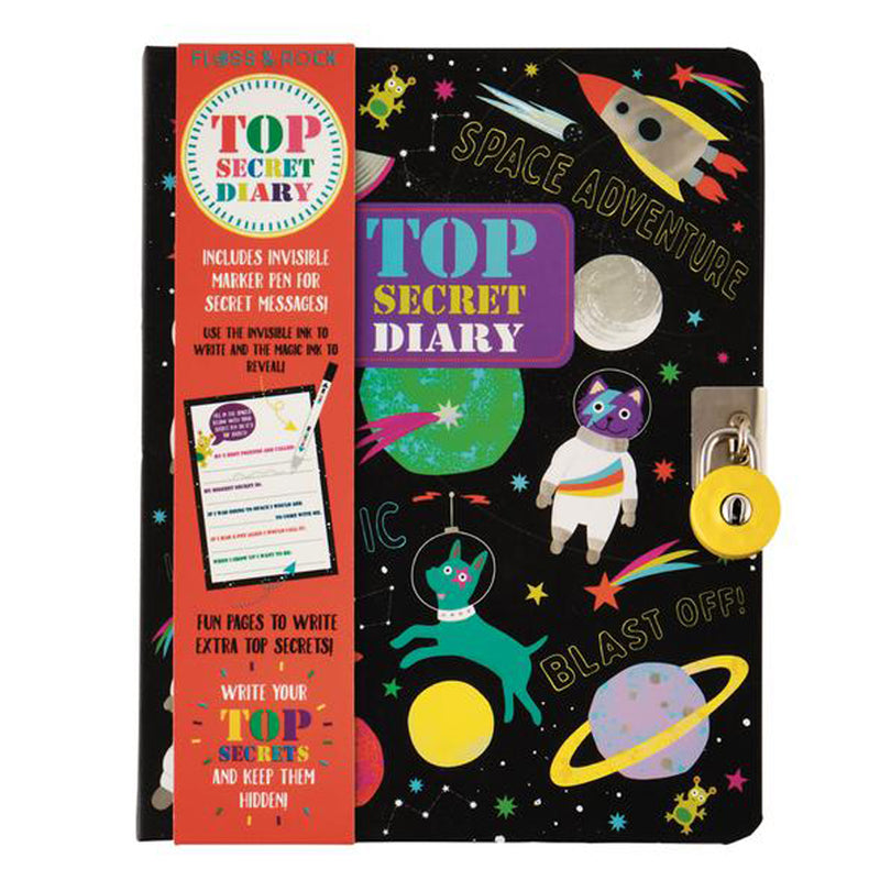 Lockable (Top Secret Space) Diary