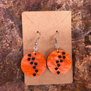 Trackway earrings
