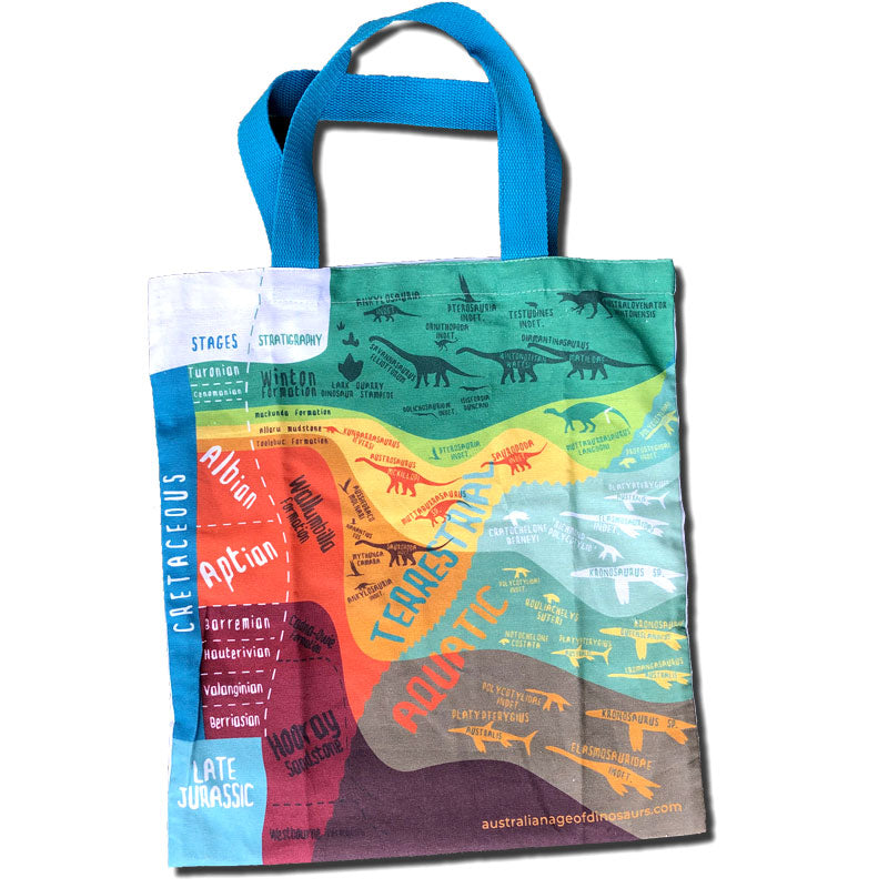 Outback Stratigraphy tote bag