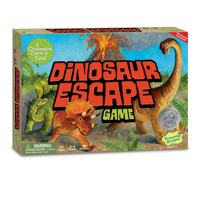 Peaceable Kingdom Dinosaur Escape Game
