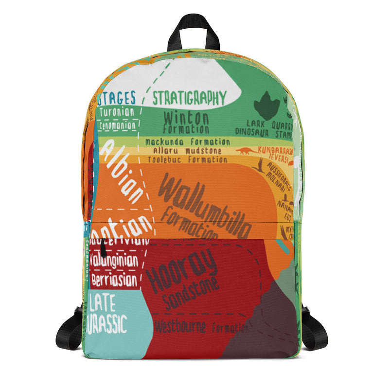 Outback stratigraphy backpack
