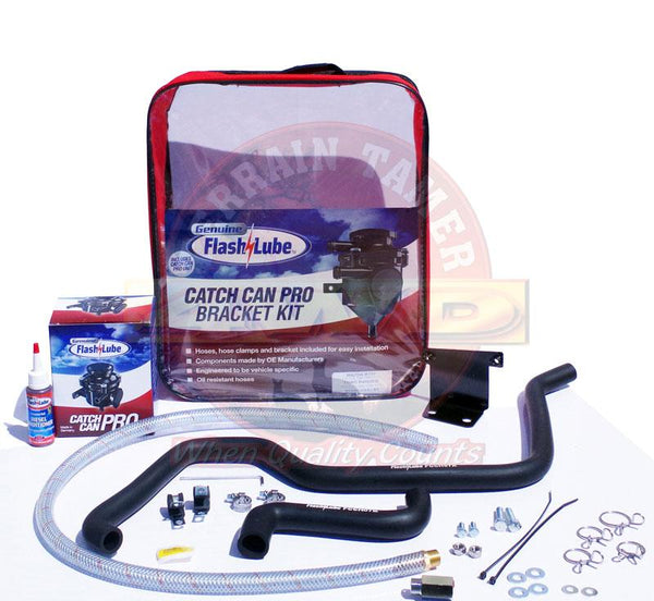 Flash Lube Catch Can Pro to suit Mazda BT50 10/2011+