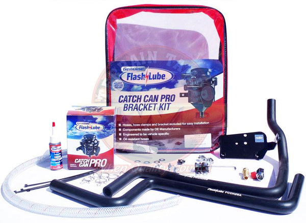 Flash Lube Catch Can Pro to suit Toyota Hilux GUN126,136 - 05/2015+