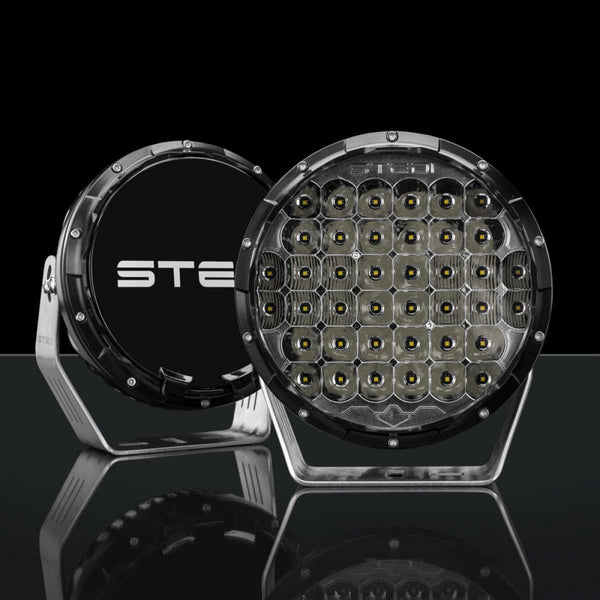 "Stedi Type-X Black 8.5"" LED Driving lights"