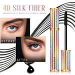 4D Waterproof Silk Fiber Thick Lengthening Mascara