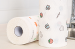 Reusable paper towels    ( Both wet and dry)