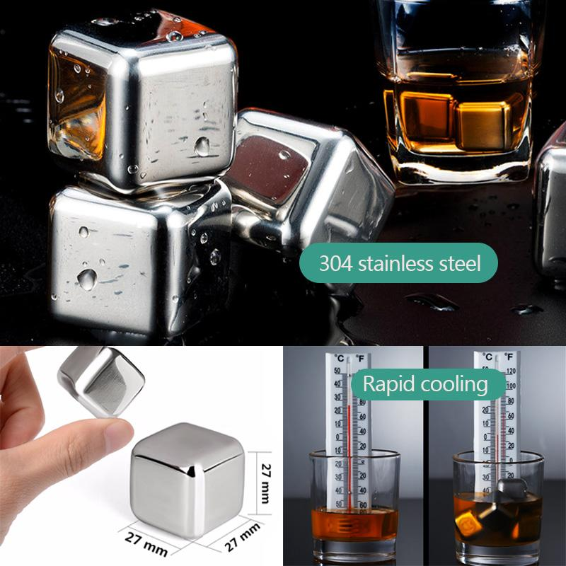 SSGP Wine Whiskey Stones Chiller Ice Stone&Whiskey Does Not Pour Glass