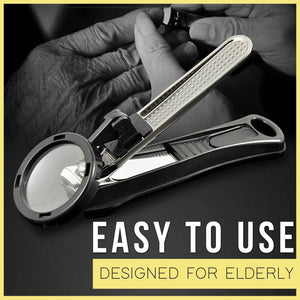 Anti-splash magnifying nail clippers (old people&children)