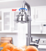360 ° rotating faucet (with automatic filtering and purification system)