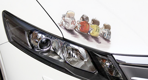 3D three-dimensional personality creative car stickers (for cars and motorcycles)