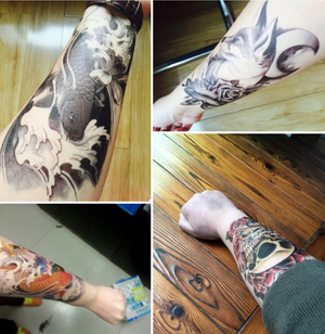 2020 Temporary Sleeve Arm Tattoo(Waterproof does not fade)