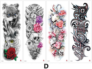 Personalized tattoo stickers