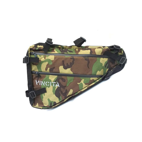 Vincita Co., Ltd. bicycle bag 46 / Camouflage / th B025N Frame Bag for Bikepacking
