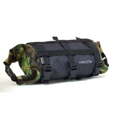 Vincita Co., Ltd. bicycle bag B012BP Strada Bikepacking Handlebar Bag