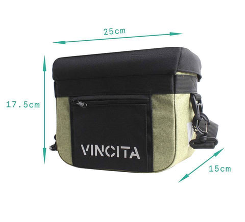 Vincita Co., Ltd. bicycle bag B012U John Handlebar Bag