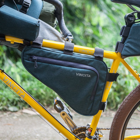 Vincita Co., Ltd. bicycle bag B025BP Strada Bikepacking Frame bag