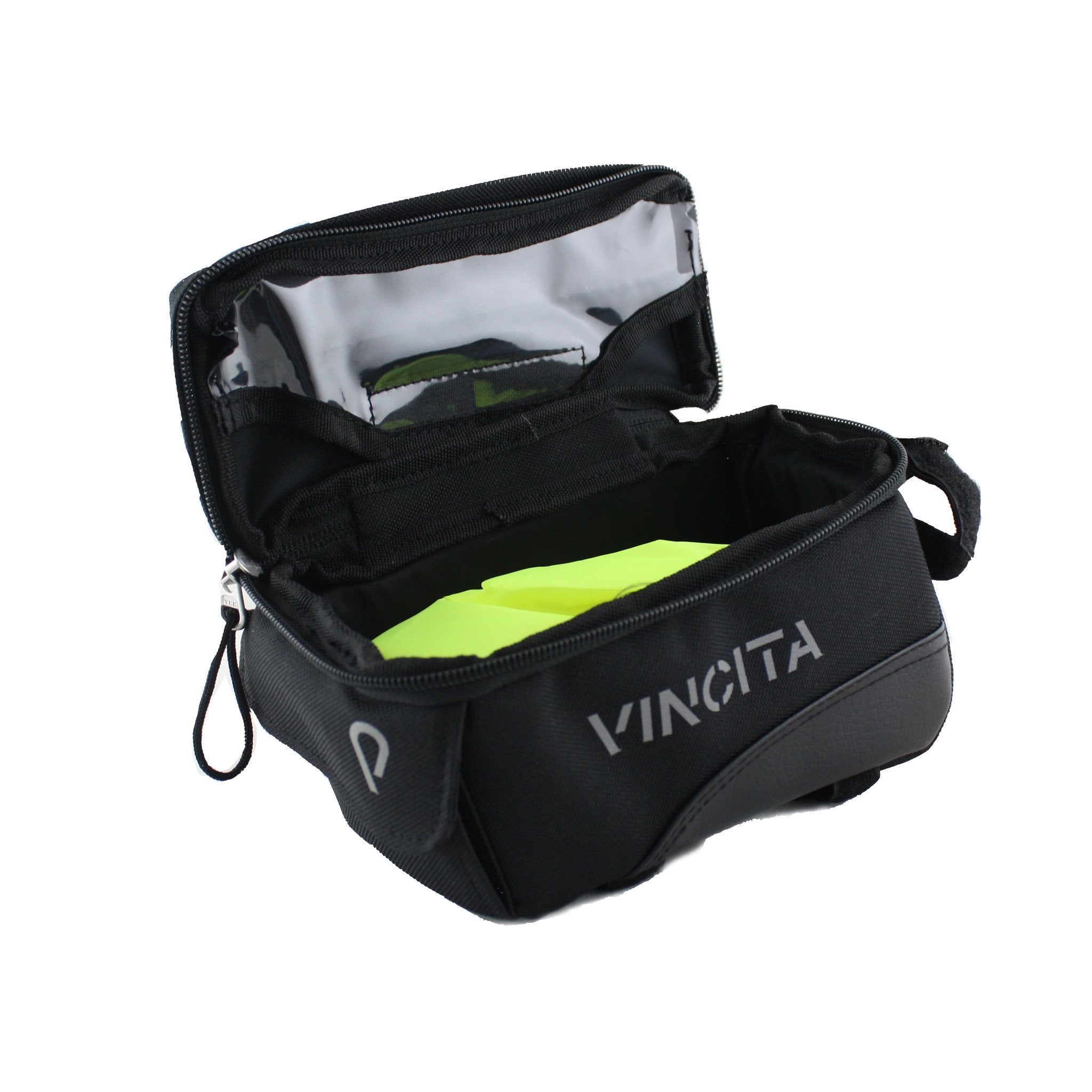 Vincita Co., Ltd. bicycle bag B026D Top Tube Bag with Phone Pocket
