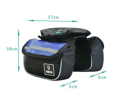 Vincita Co., Ltd. bicycle bag B029T Top Tube Bag Duo Tarpaulin