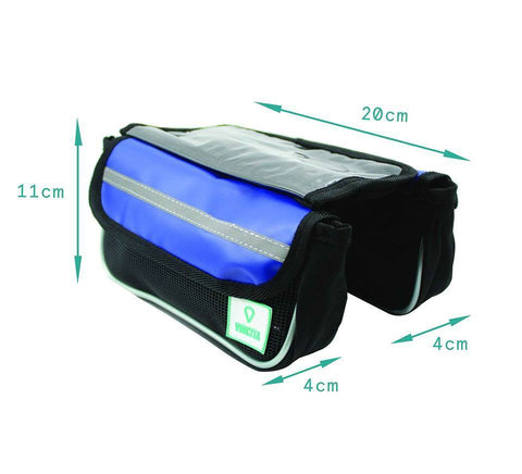 Vincita Co., Ltd. bicycle bag B029TX Top Tube Bag Duo Tarpaulin