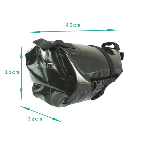 Vincita Co., Ltd. bicycle bag B038WP Touring Waterproof Saddle Bag