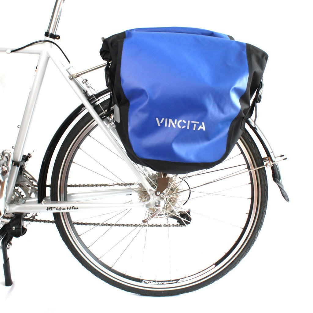 vincitabikebag bicycle bag B060WP-V Single Pannier Waterproof (Large)