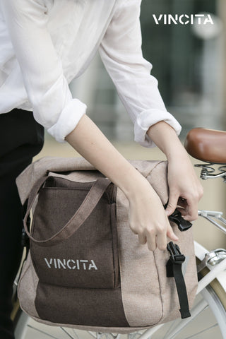 Vincita Co., Ltd. bicycle bag B071U Victoria Single Pannier