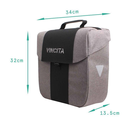 Vincita Co., Ltd. bicycle bag B074U Bob Single Pannier