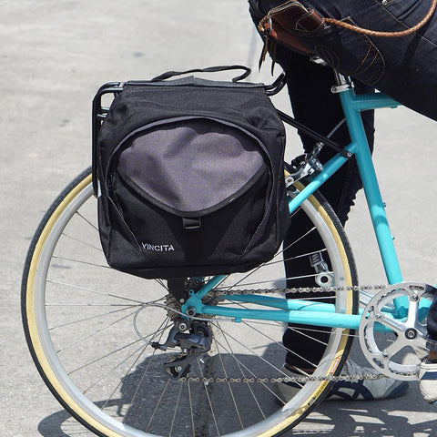 vincitabikebag bicycle bag B082 Pannier Round Zip