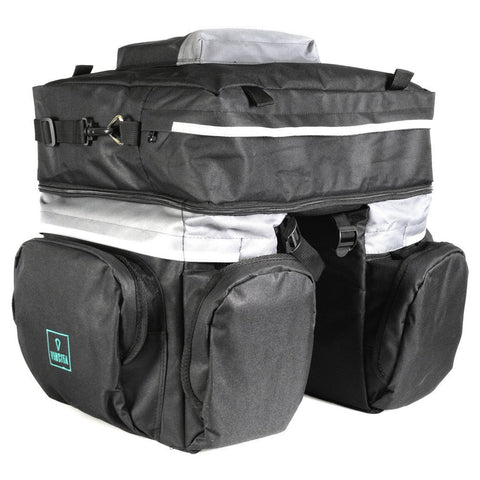 vincitabikebag bicycle bag B101 Triple Bag Detachable