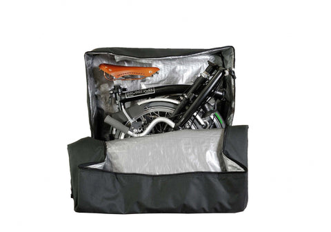 vincitabikebag bicycle bag B132B Soft Transport Bag for Brompton Bike