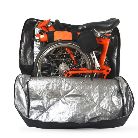 Vincita Co., Ltd. bicycle bag B132H Soft Transport Bag for Brompton Bike with wheels