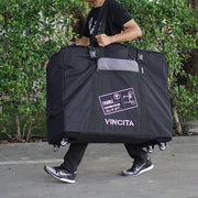 "Vincita Co., Ltd. bicycle bag B132TD Soft Transport Bag  for  20"" Folding Bike with 4 wheels"
