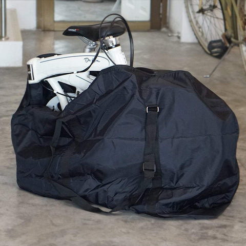 "Vincita Co., Ltd. bicycle bag B135F Compact transport bag for 20"" folding bike"