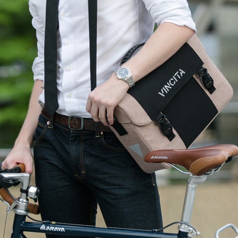 Vincita Co., Ltd. bicycle bag B205U Brad Messenger/Pannier Bag
