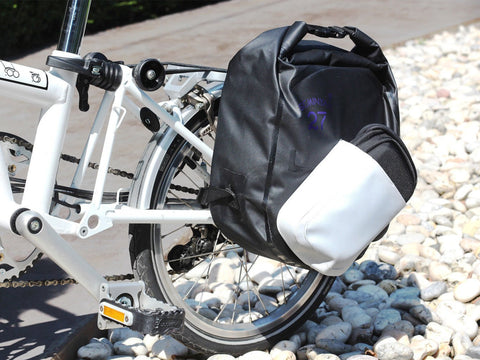 Vincita Co., Ltd. bicycle bag Black and white Seminyak 27