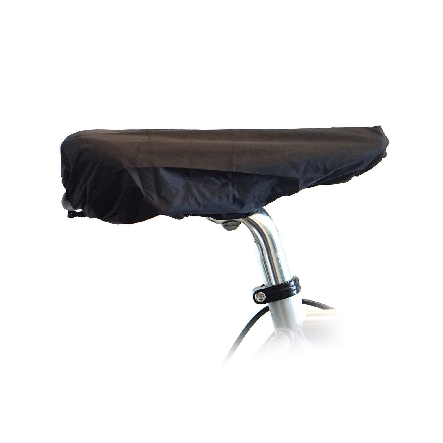 Vincita Co., Ltd. Bike cover Black Foldable rain cover for bike saddle
