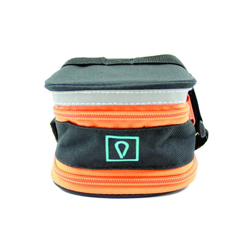 Vincita Co., Ltd. Black/Orange-Zipper / th B031S Stash Pack Basic