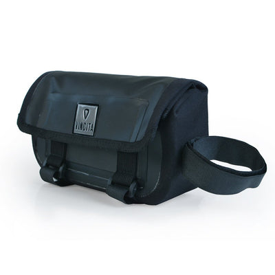 Vincita Co., Ltd. bicycle bag black / th B026WP Waterproof Top Tube Bag