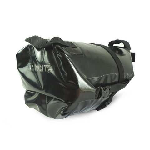 Vincita Co., Ltd. bicycle bag Black / th B038WP Touring Waterproof Saddle Bag