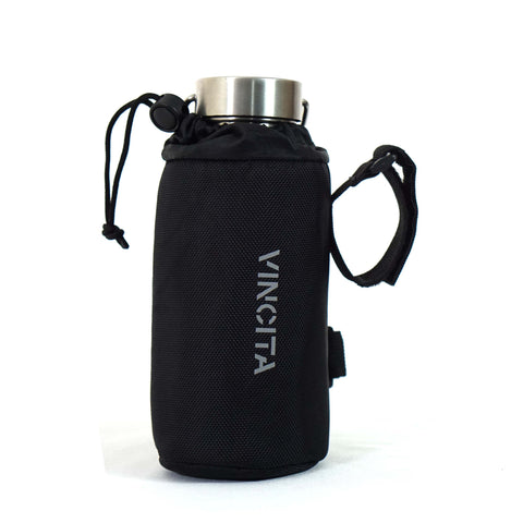 Vincita Co., Ltd. bicycle bag Black / th B124 Insulated bottle holder