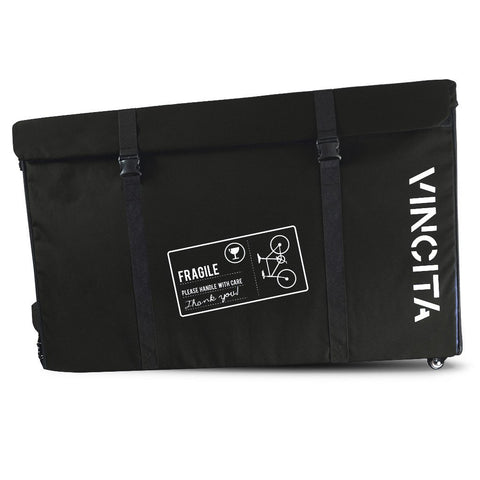 Vincita Co., Ltd. bicycle bag Black / th B144X Semi-Hard Case with Wheels