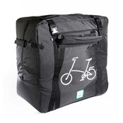 vincitabikebag bicycle bag Black (With Bicycle Logo) / th B132B Soft Transport Bag for Brompton Bike